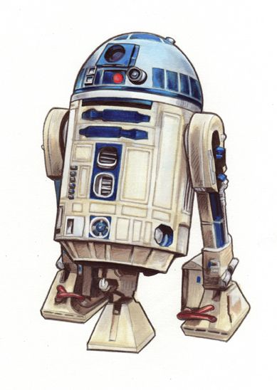 Star Wars:Rebel Force art R2D2 by Randy-Martinez.deviantart.com on @deviantART