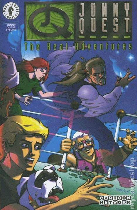 Real Adventures of Jonny Quest Special (1996) 1  Dark Horse Comic Book cover Modern Age