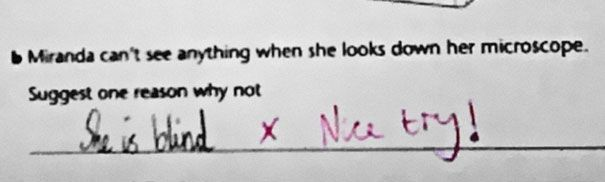 28 Hilarious Smart-Ass Test Answers can't get enough of it