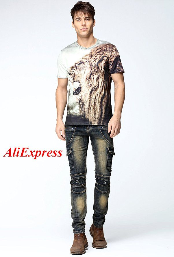 New Mens Cargo Jean Pants Two Side Pockets And Two Zipper In Front Pleated Slim Skinny Stretch Punk Rock Jeans