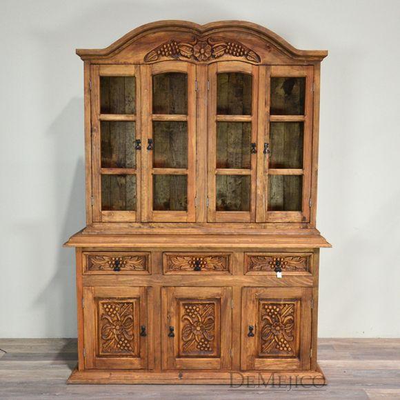 furniture spanish. rustic hutch hacienda style furniture spanish mexican western carved o