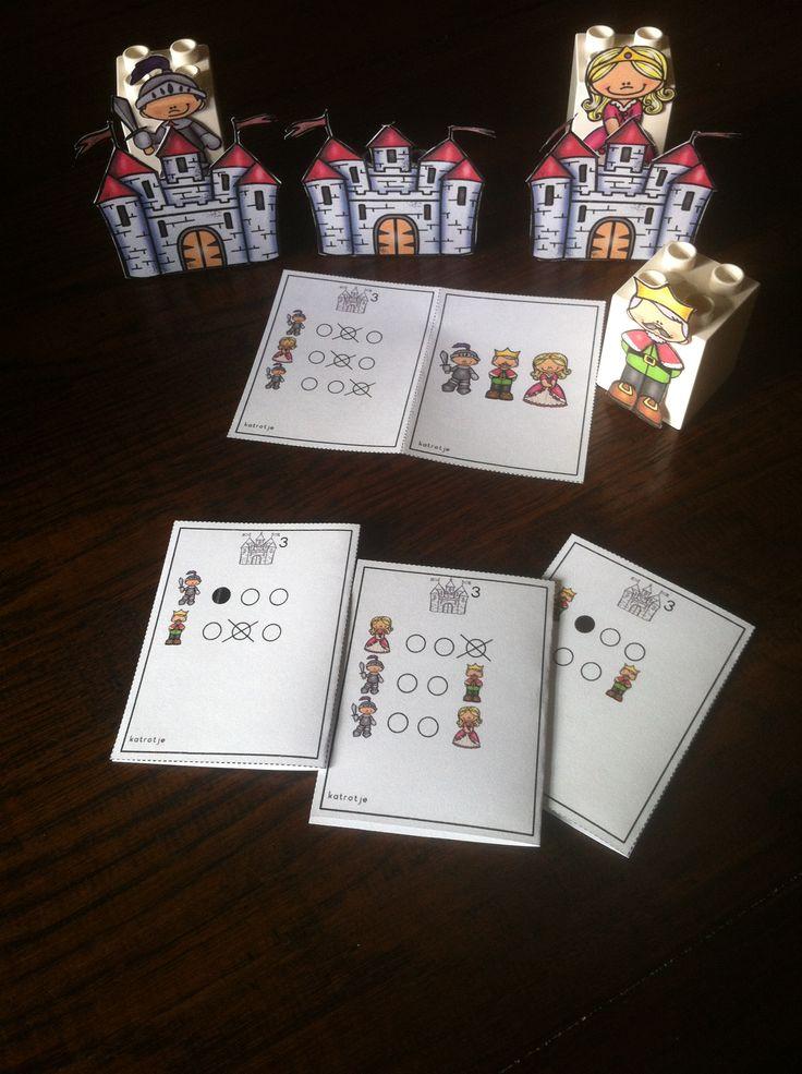 een spel uit het bestand ridders en prinsessen van katrotje