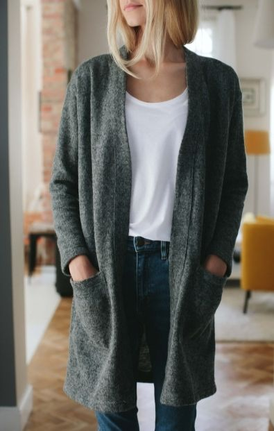 Szary sweter - Wszystkie - MLE Collection
