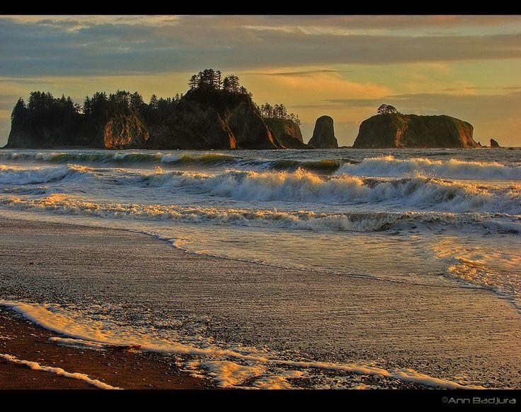 Rialto Beach, Olympic Peninsula, Washington coast