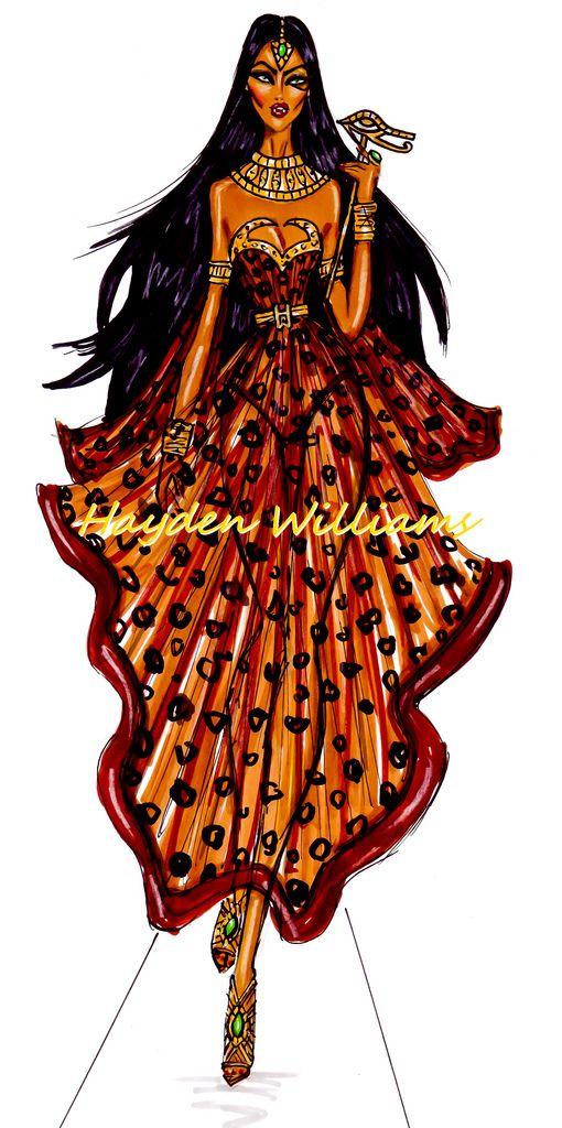 'Halloween Masquerade' by Hayden Williams: The Egyptian Queen