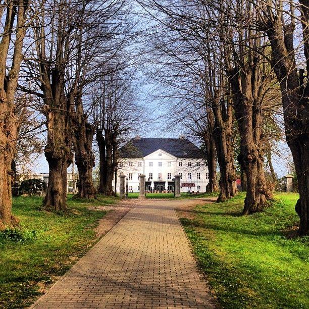Schlossgut Groß Schwansee in Groß Schwansee, Mecklenburg-Vorpommern - sehr schoen gelegen mit sehr guten Oertlichkeiten fuer Hochzeiten. Aber auch als Get away fuer ein Wochenende geeignet