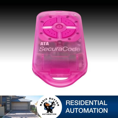 LOVE PINK ATA PTX4 SECURACODE REMOTE X 2 Inc Batteries by magicbuttonman