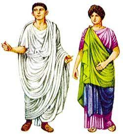 Roman Republic (Toga & Stola): During this time period men typically wore…
