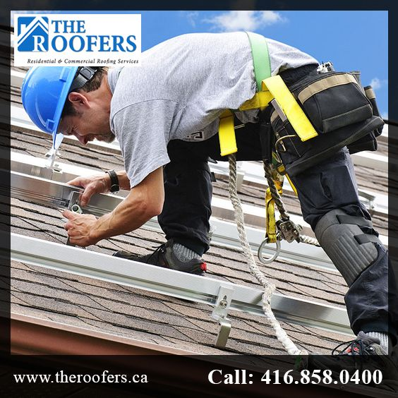 The Roofers provide quality roofing services to the clients. For more information just call on (416)-858-0400.