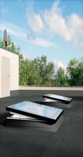 1000 id es sur le th me toit plat sur pinterest maisons contemporaines fen tres de toit et - Fenetre de toit plat ...
