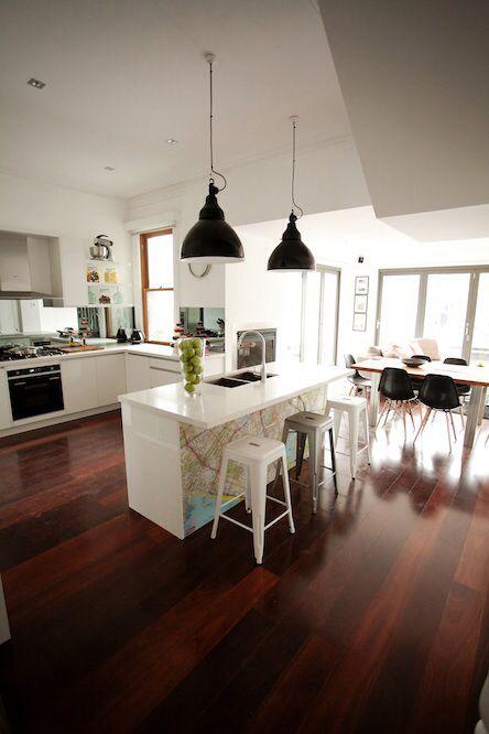 The block map kitchen