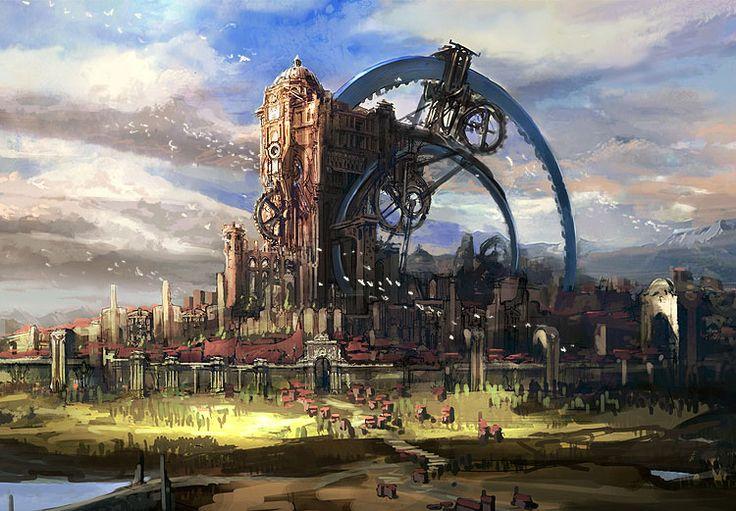 Beautiful Tera Environment Concept Art & Character Design | Fantasy Inspiration