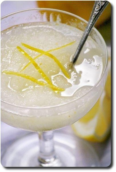 Granita sicilienne au citron (et bonne vacances) | Recettes/Glaces | Recettes