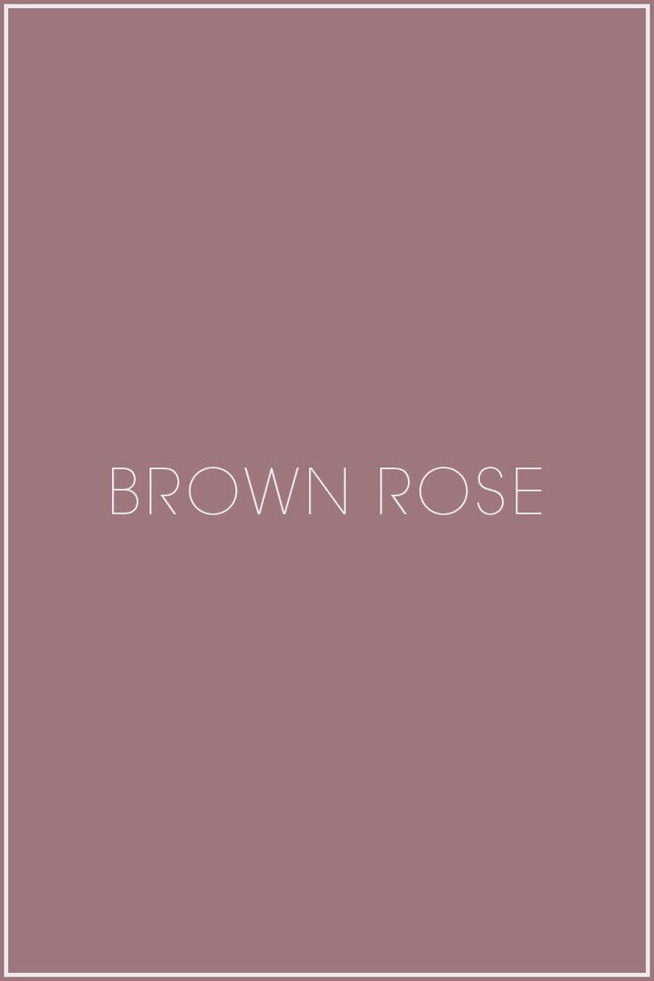 Brown Rose - soft summer