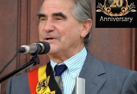 Roland Crabbe Burgemeester Van Nieuwpoort Viert 20 Jarig Jubileum! - Het laatste regionaal, nationaal nieuws door Nieuwpoort Nieuws