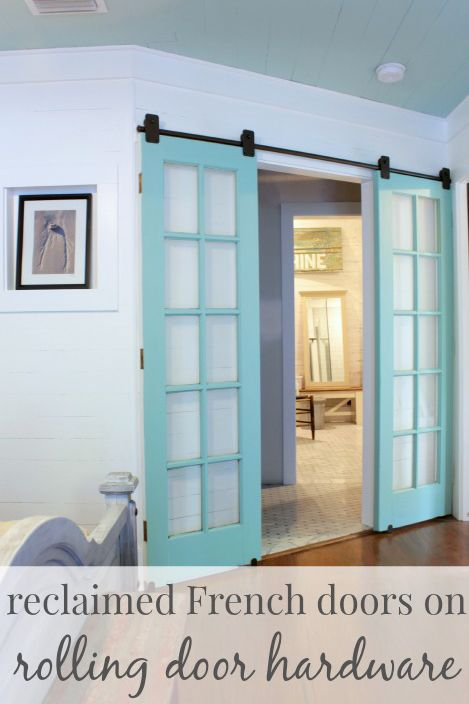 Rolling French Doors