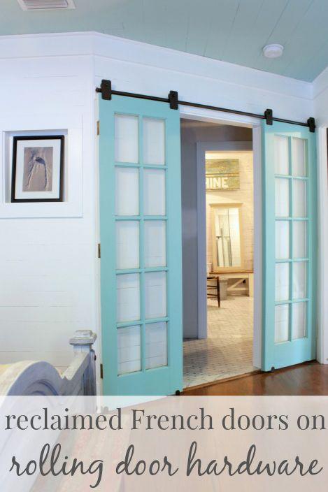 Interior Sliding French Doors 569 best barn doors, sliding track doors & interior doors images
