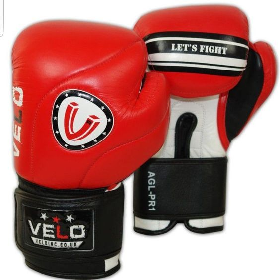 VELO #leather #sparring #gloves #cowhide