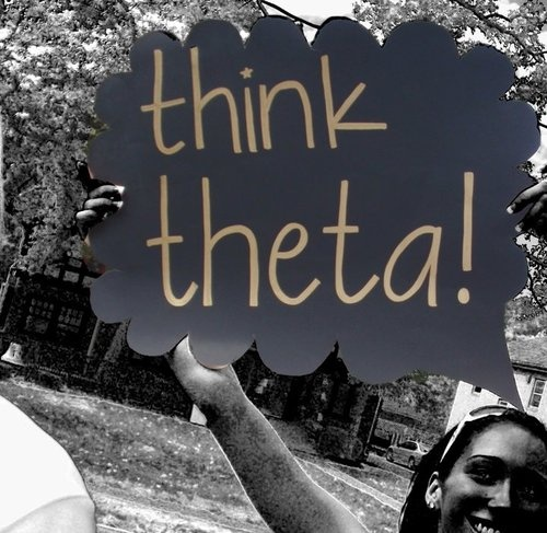 : Theta 3, Bid Day Signs, Theta Recruitment, Thoughts Bubbles, Theta Bid, Thoughts Theta, Kappa Alpha Theta, Things Theta, Kappaalphatheta