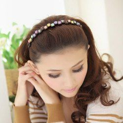 SHARE & Get it FREE | Elegant Colored Square Faux Gem Hairband For WomenFor Fashion Lovers only:80,000+ Items • FREE SHIPPING Join Twinkledeals: Get YOUR $50 NOW!
