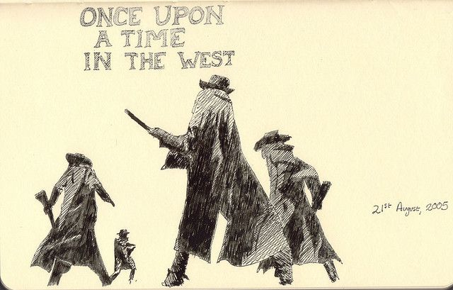 Once Upon a Time in the West / love this cover