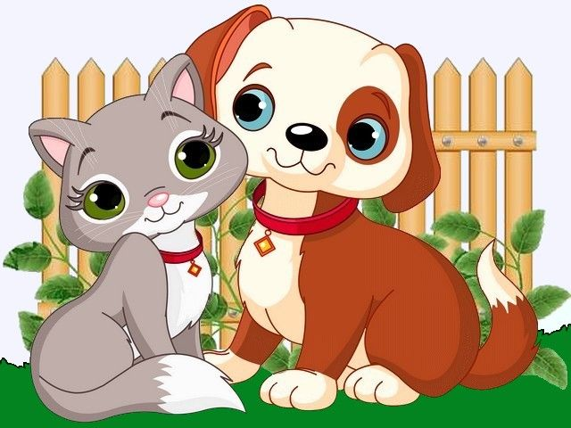 Image Result For Cartoon Cat Dog Clip Art