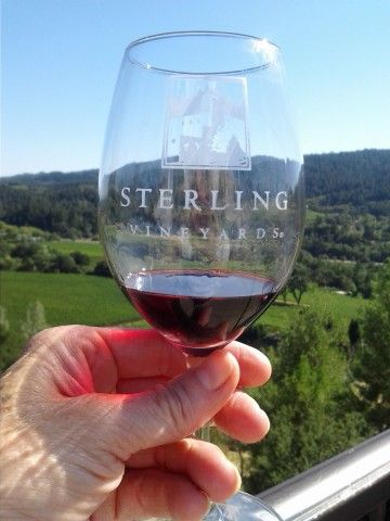 Sterling Winery - Beautiful place