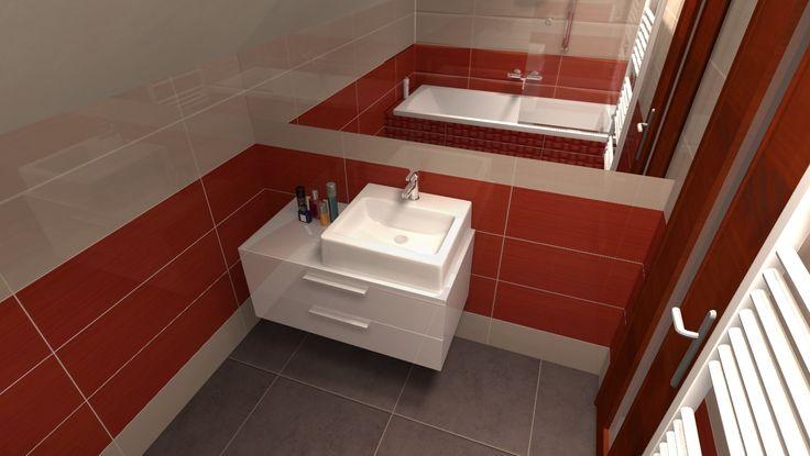 Koupelnový nábytek pod umyvadlo na desku? Není nic jednoduššího.  Pro zákazníka z Ostravy