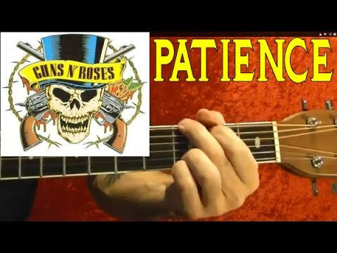 How to Play PATIENCE by GUNS N' ROSES ( Guitar Lesson )