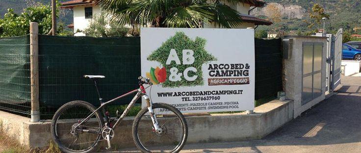 Arco Bed & Camping #giropercampeggi #campeggi #camper #tenda