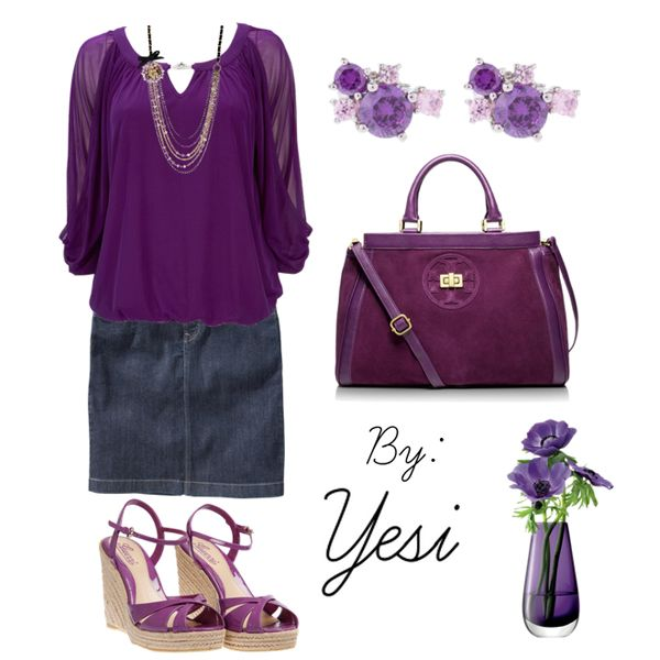 Purple outfit option 95.