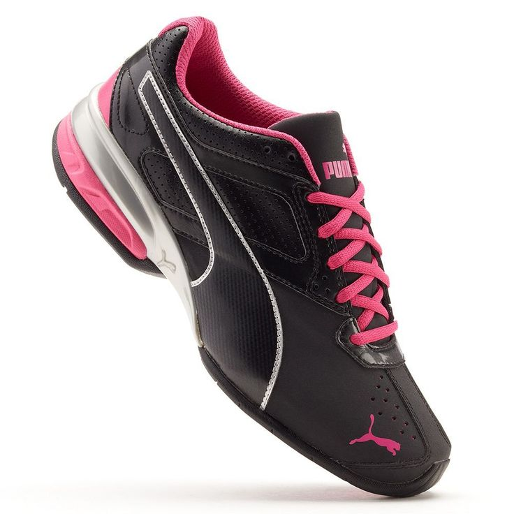 PUMA Tazon 6 Women's Running Shoes, Size: 7.5 Wide, Black