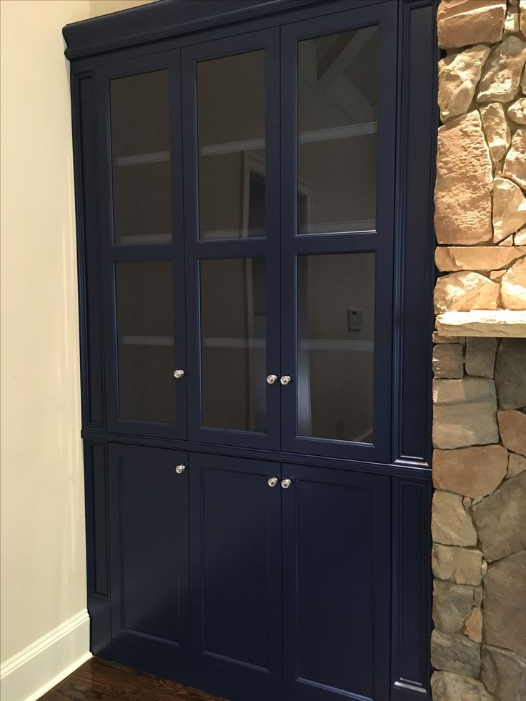 Pin On Blue Built Ins