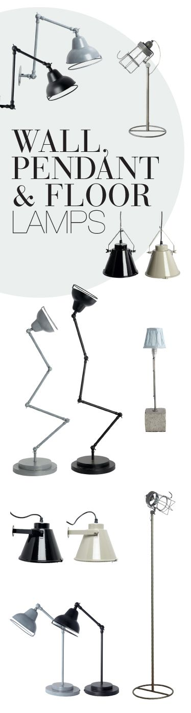 New funky lamps | House doctor