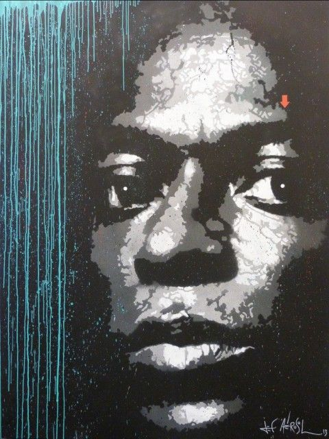 Jef Aérosol - Miles Davis