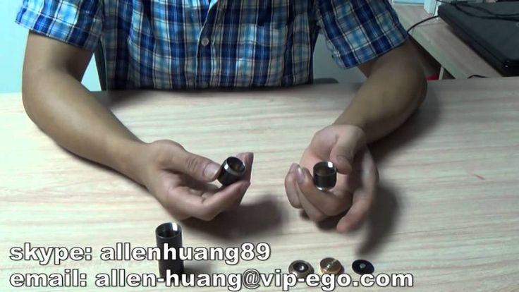 Newest Vape Mod Black 4nine Mechanical Mod Clone Review