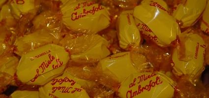 #caramelle #ambrosoli #miele #candy #honey #yellow http://www.lemilleeunamella.it/