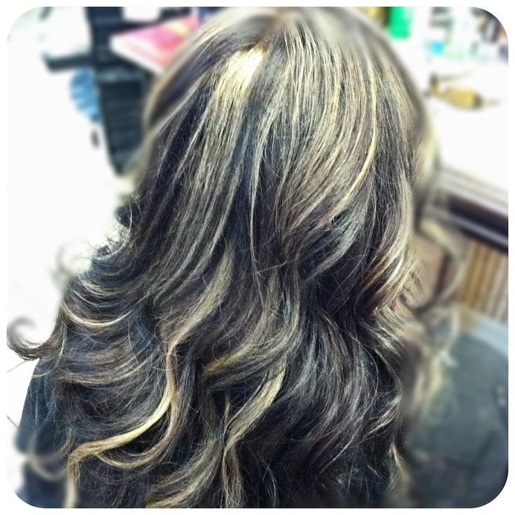 Ash blonde streaks black hair the best black hair 2017 30 ash blonde hair color ideas that you ll want to try out right away pmusecretfo Choice Image