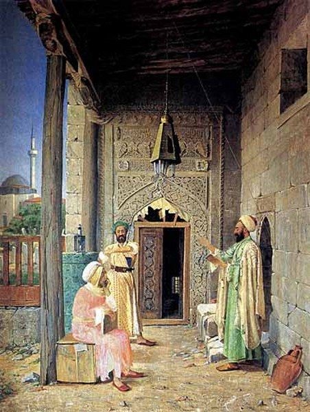 Osman Hamdi Bey was an Ottoman administrator, intellectual, art expert and also a prominent and pioneering painter. He was also an accomplished archaeologist, and is considered as the pioneer of the museum curator's profession in Turkey