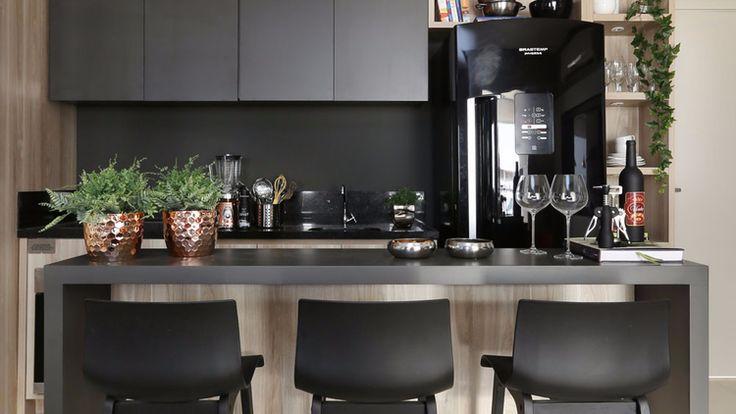 Cozinha Com Coifa De Parede   Pesquisa Google   Ideias Para A Casa    Pinterest