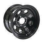 """Cragar Soft 8 Black Steel Wheels 15""""x8"""" 5x4.5"""" Set of 2 Fits Jeep Wrangler YJ/TJ - 15X8, 5x4.5, Black, Cragar, FITS, JEEP, Soft, steel, wheels, WRANGLER, YJ/TJ"""