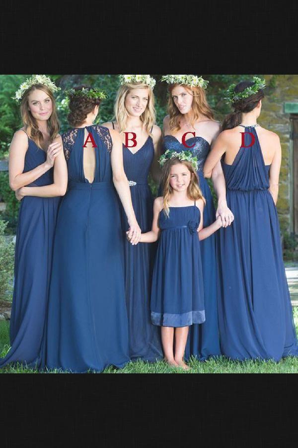 Bridesmaid Dress Blue Sequin Wedding Dress Wedding Dress Long
