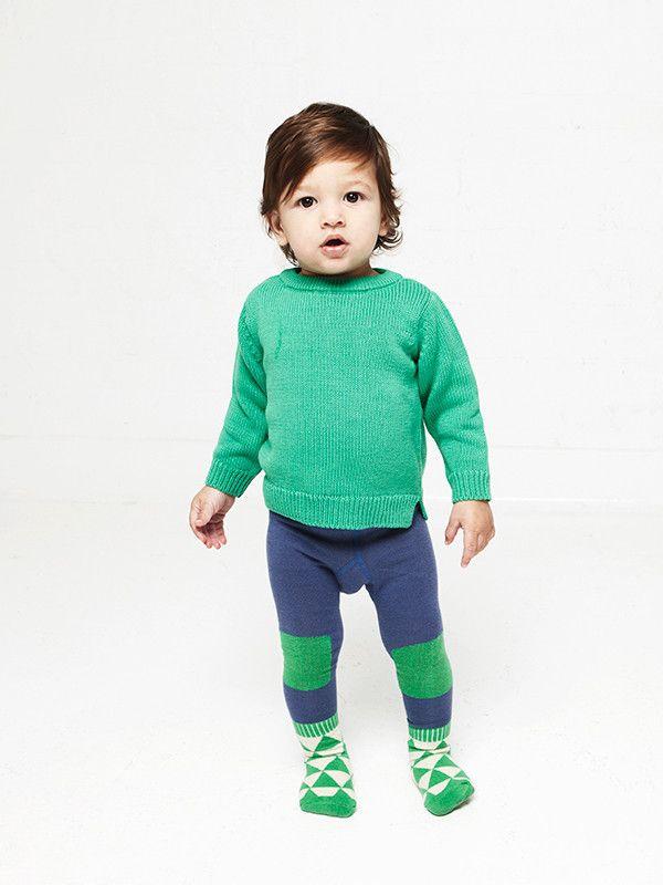 Green Peak Socked   Little Titans