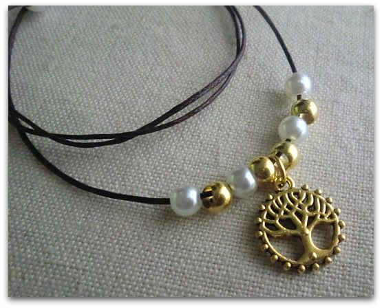 *Tree of Life* - necklace handmade by Miss Daisy