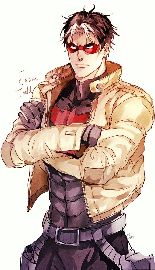 Jason Todd aka The Red Hood who is really hot