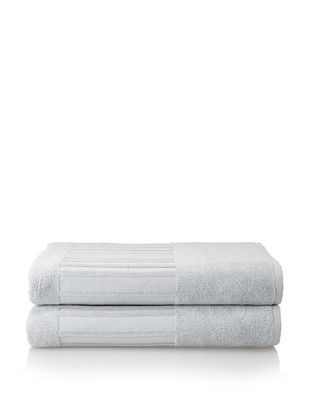 60% OFF Garnier-Thiebaut Set of 2 Bath Sheets, Perle