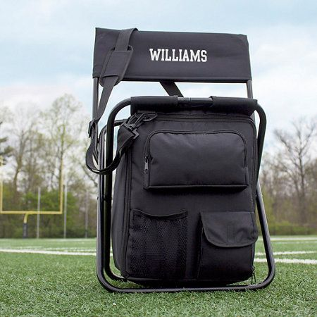 Personalized Cooler Tailgate Chair