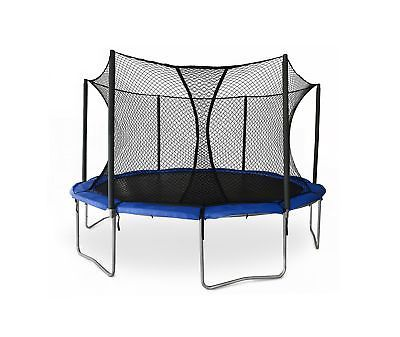 JumpSport SkyBounce ES 14' Trampoline with Enclosure | Includes Overlapping D...