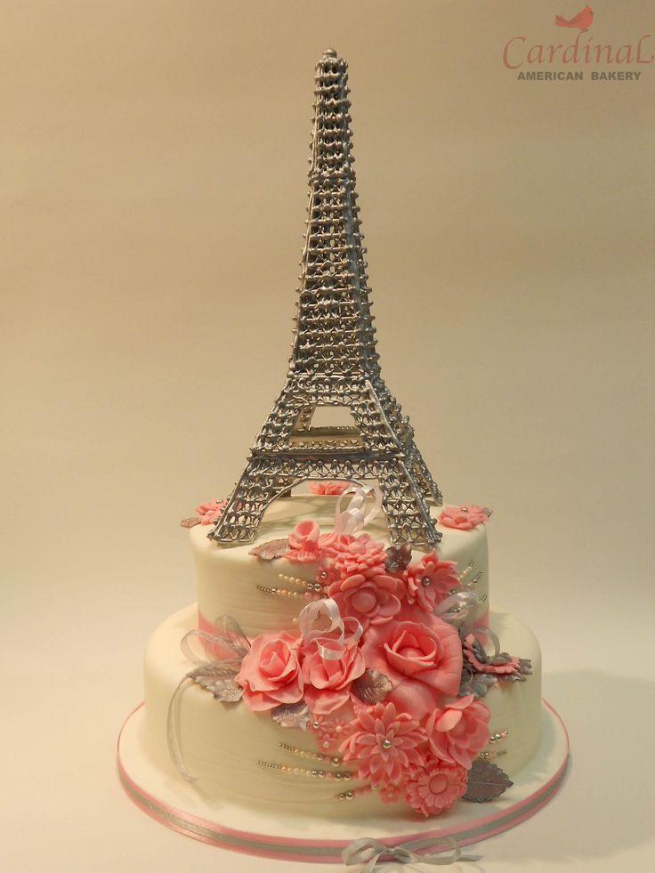 19 best Wedding Cakes Cardinal American Bakery images on Pinterest ...