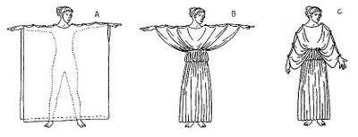 Geografía e Historia para la ESO: La vestimenta en la Grecia Antigua.